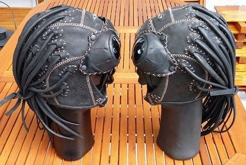 Oakley Medusa Leather Helmet & Goggles - 4603146407_9f3b57c7c8.jpg