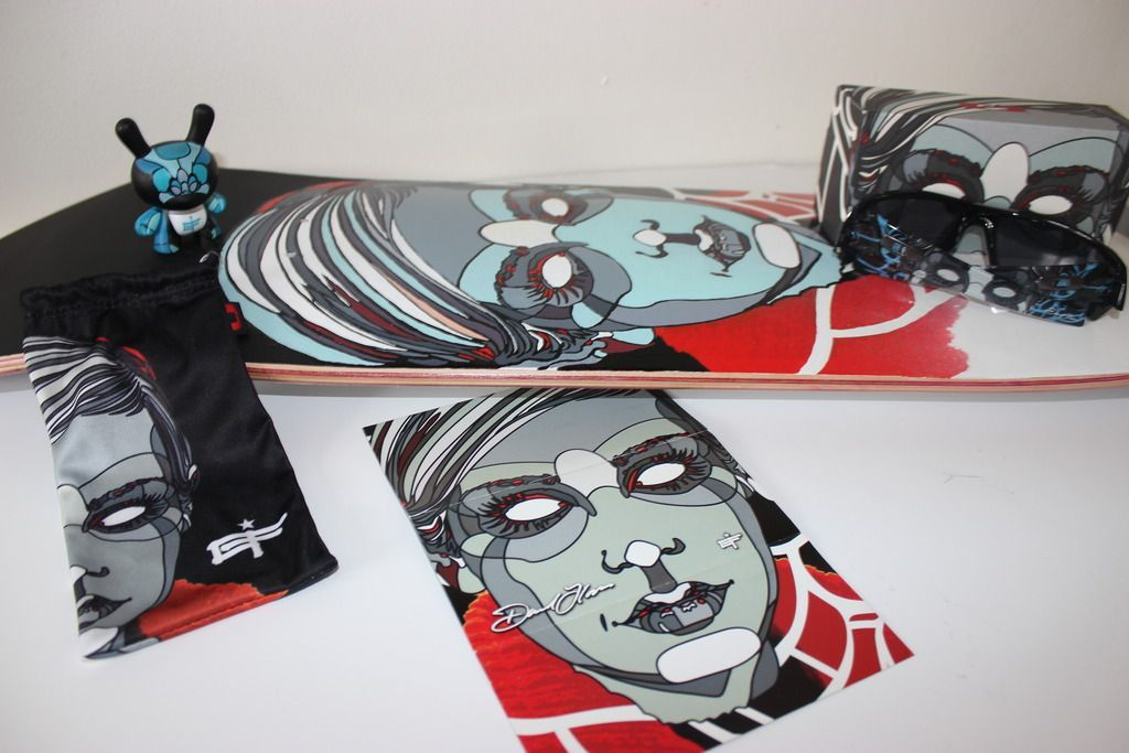 V2oak's 14th DIY: Custom David Flores Art REPLICA skate deck - 4_zps3kyzcnxq.jpg