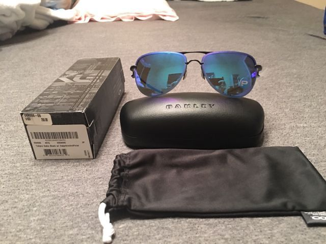 For Sale Oakley Tailpin Saphire Iridium Polarized BNIB - 4a20c70169080a5137ff4a5847f4da06.jpg