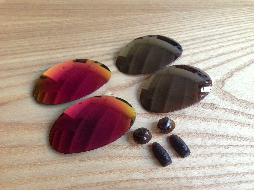 X Metal Romeo 1 Original Lenses (Used) W/ Exovista Ruby Red, And More - 4limnd.jpg