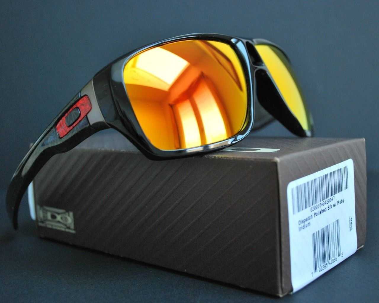 FS: Oakley Dispatch Polished Black W/ Ruby Iridium - 528641504_o.jpg
