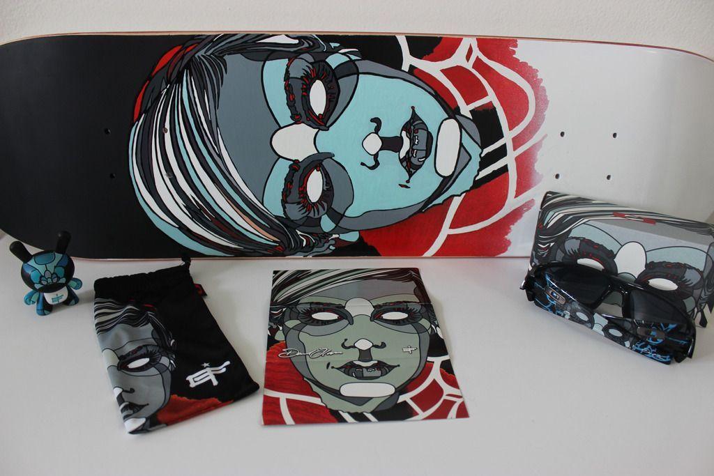 V2oak's 14th DIY: Custom David Flores Art REPLICA skate deck - 5_zpsdnrsunel.jpg
