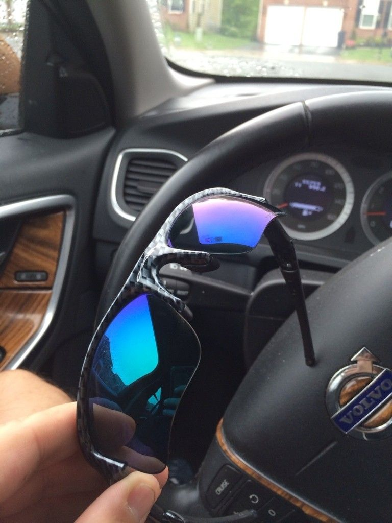 Oakley Blue Iridium
