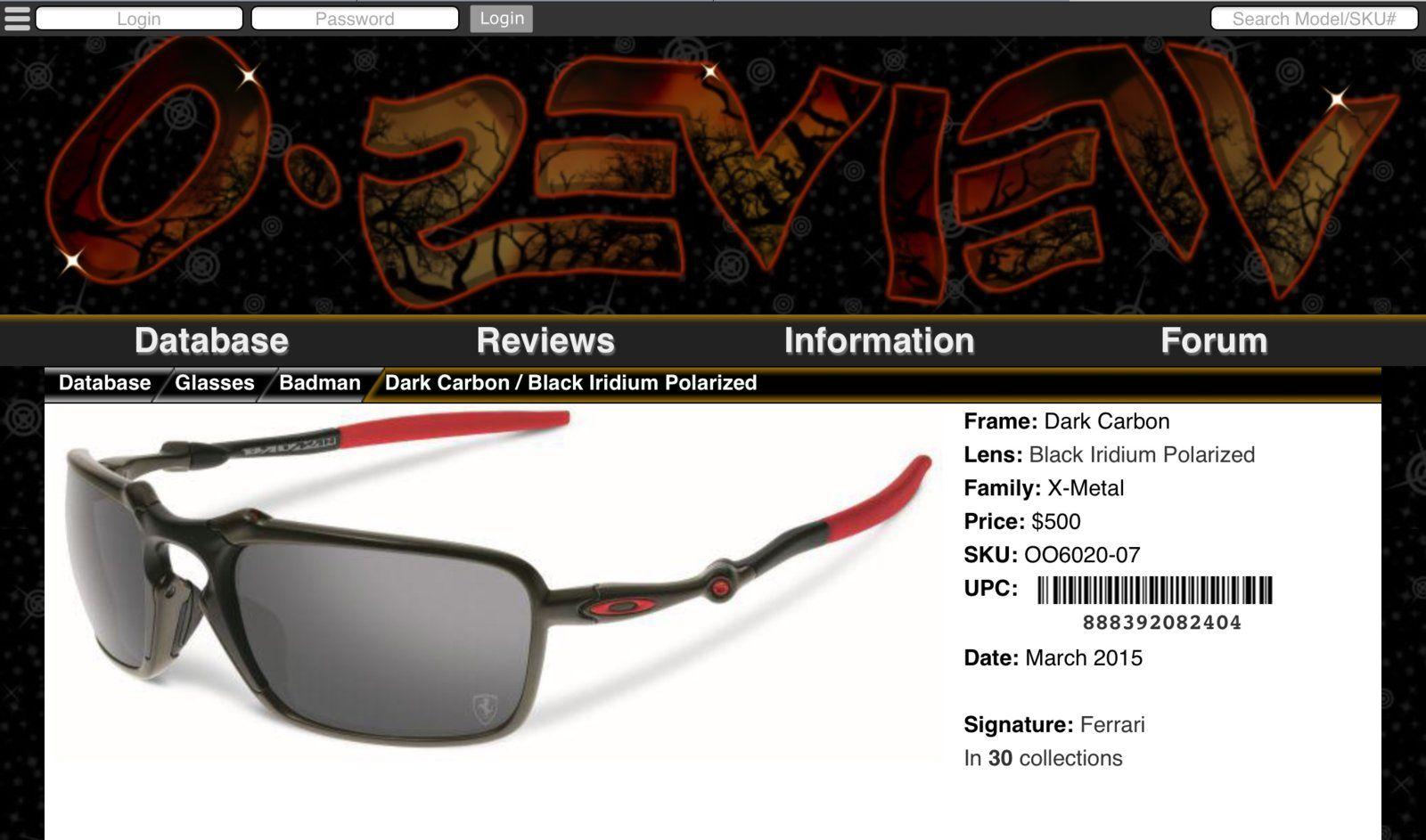 fa65314890 Oakley Badman Scuderia Ferrari Sunglasses (New) - 5B5EA9AA-52CD-4084-A927