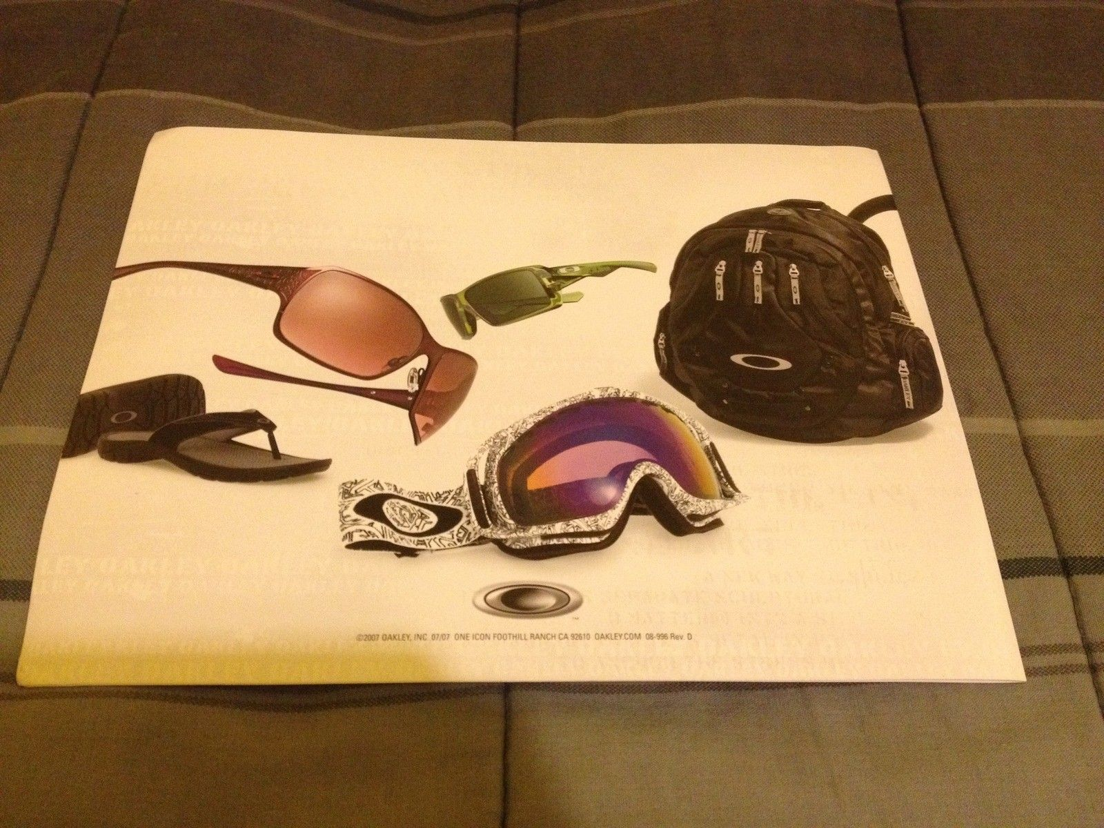 Very Last Of My Oakley Items (stickers, Catalogs, Lanyards, Microbags) - 5rx.JPG