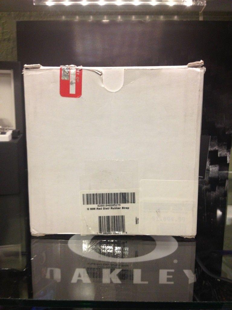 Minute Machine Red Dial Rubber Strap Edition LNIB Condition - 6AA8496F-E09D-4639-95CF-8FC84EA10F4C-4182-000002CB47913EC6.jpg