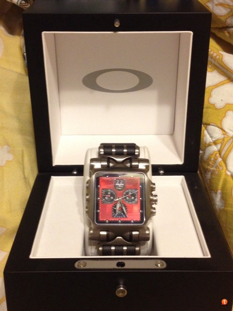 Minute Machine Red Dial Rubber Strap $450 Shipped - 6yba8y8a.jpg
