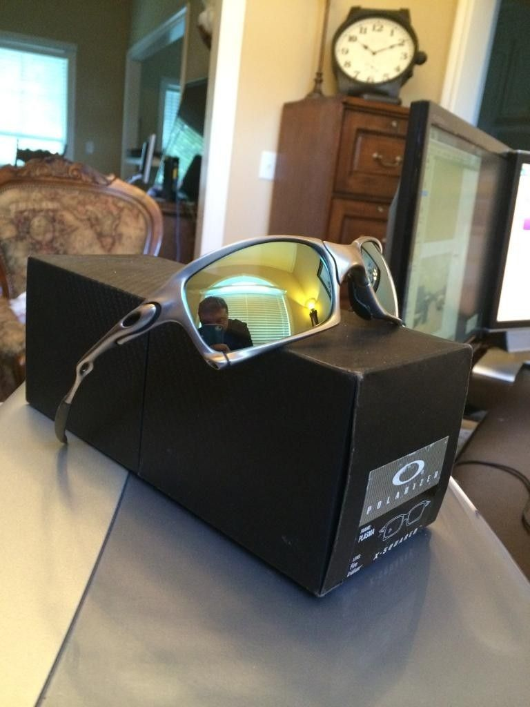 FS  Oakley X Squared Plasma Complete Displayed Only New - 70A5CDBC-68F3-41BC-896F-F78103F10979.jpg