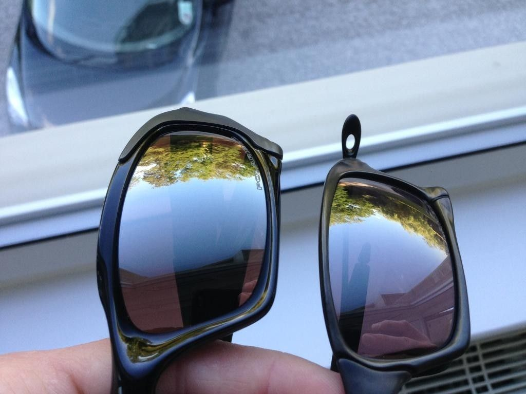 e886e04a97 Oakley Black Iridium Polarized Lenses Vs Grey Polarized « Heritage Malta