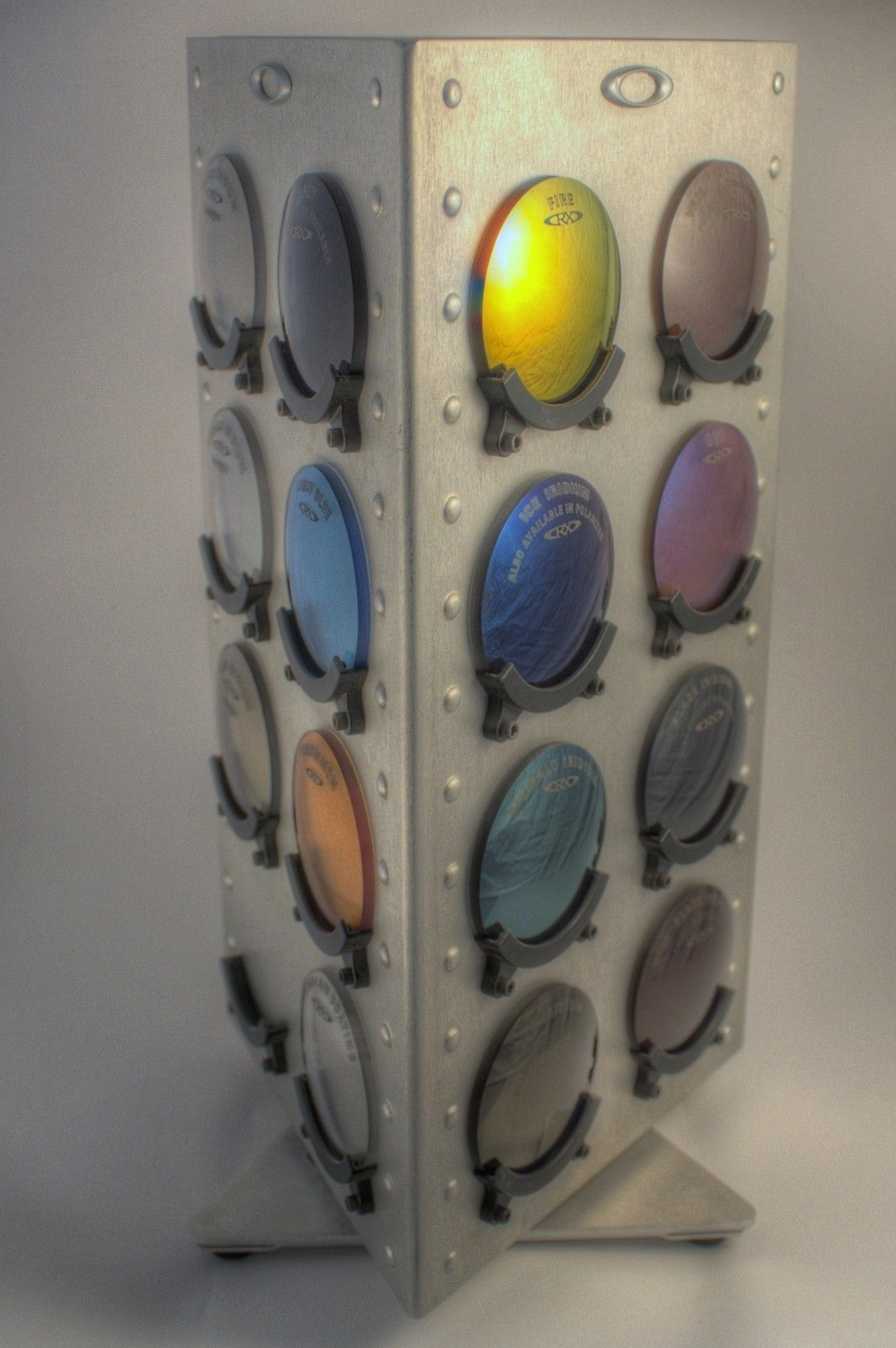 Oakley Display Items: Rotating Lens Display And Coin Holders - 8166617204_3d696183b4_h.jpg