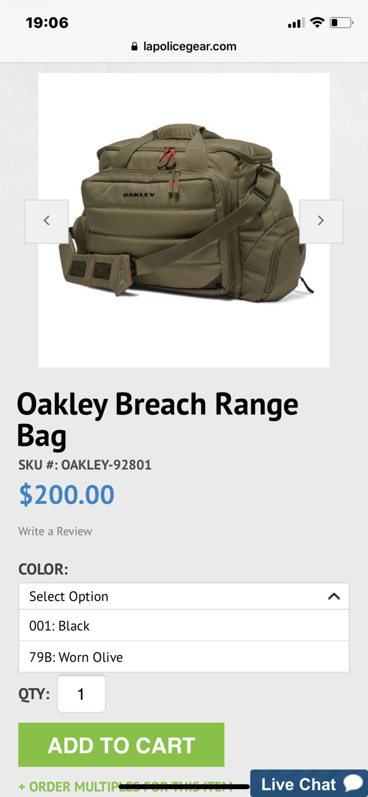 Oakley Extractor Sling Pack Backpack - CEAGESP