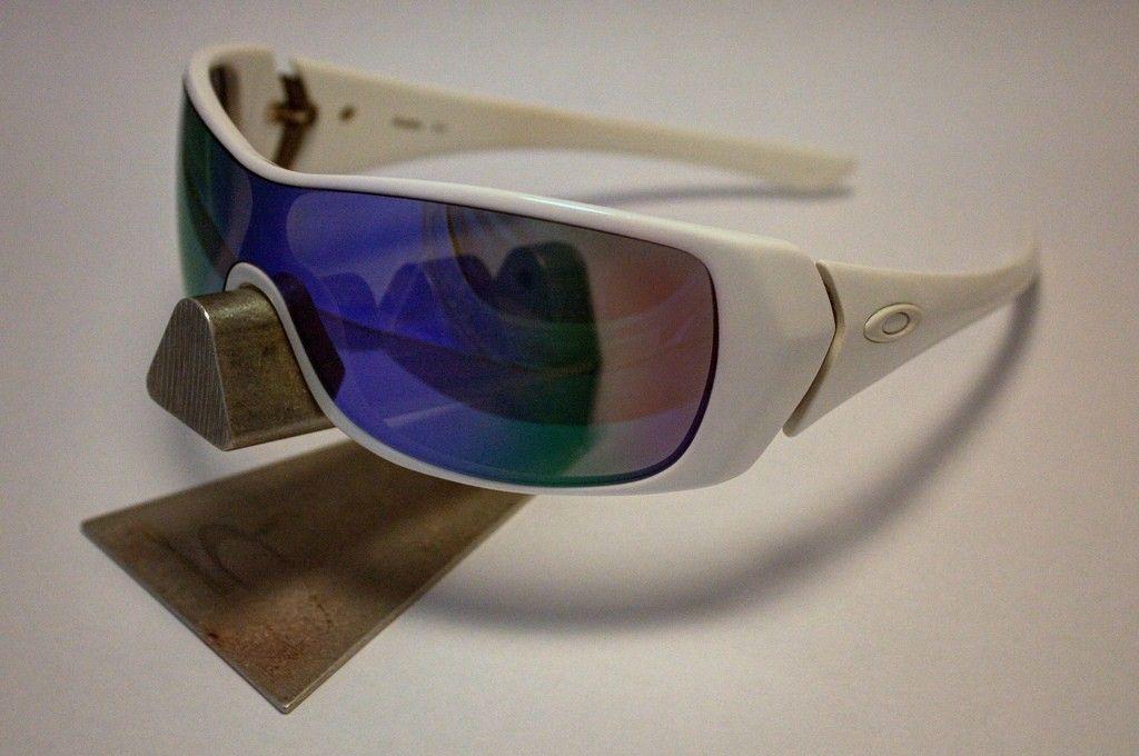 Oakley Riddle Polished White /  Violet Iridium CUSTOM - 9134647342_7be0e1a159_b.jpg