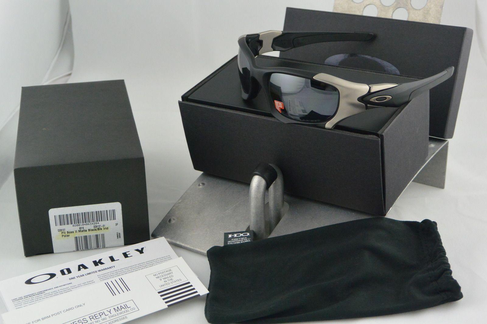 New In Box Oakley Pit Boss II OO9137-01 - 91r4.jpg