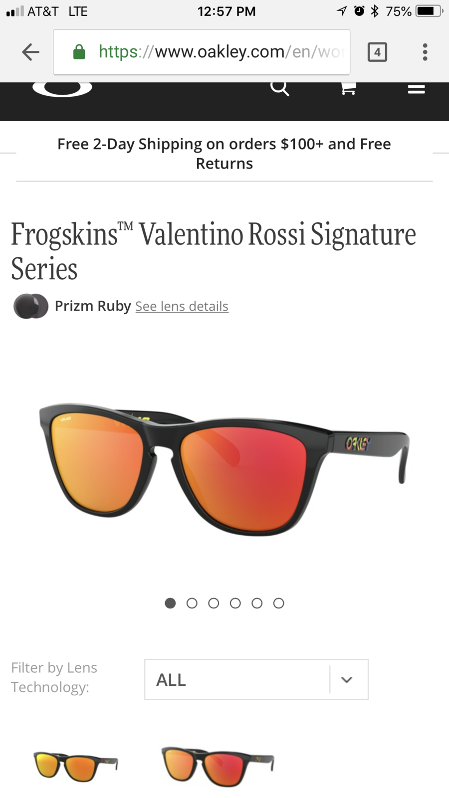 431ca0a5df2a1 Frogskins Valentino Rossi w  Prizm Ruby