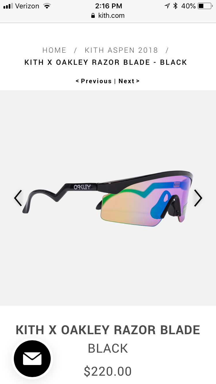 33105519c7b ... New KITH Collaboration with Oakley - Aspen 2018 Launched Today -  92FE4E5A-AFDA-42FA