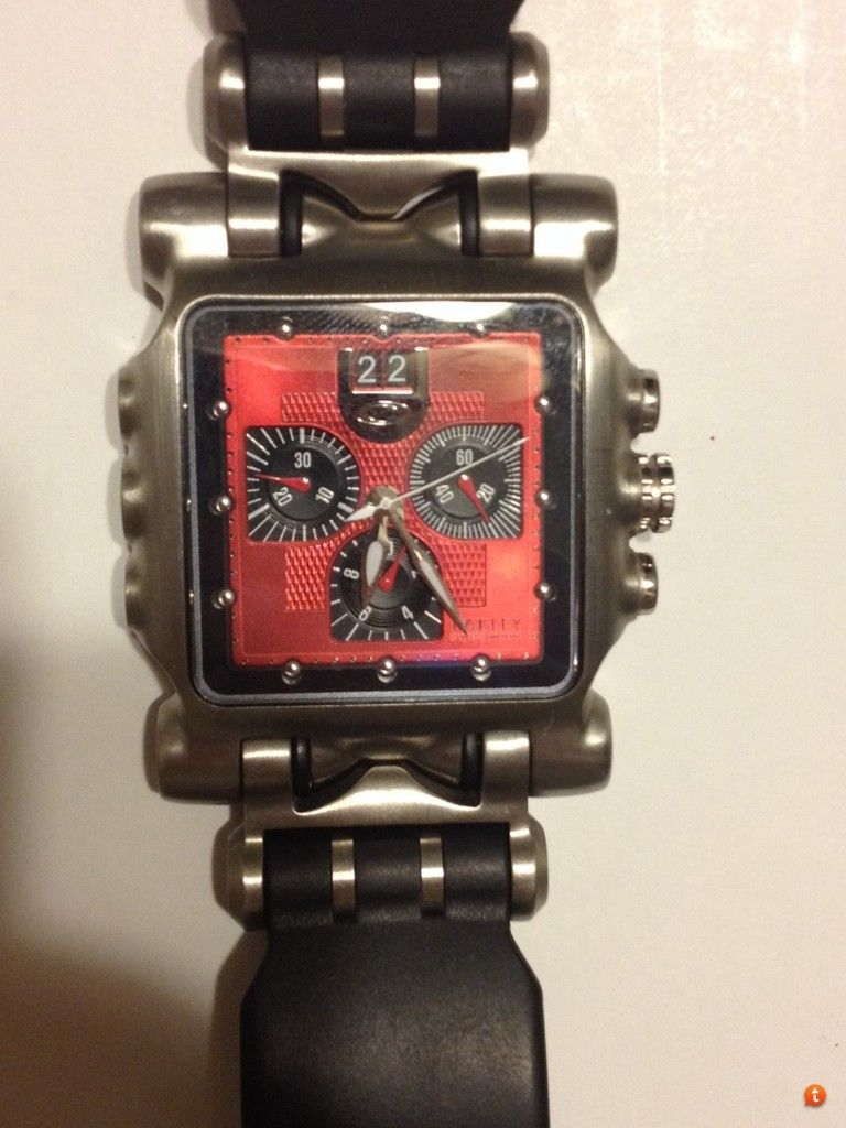 Minute Machine Red Dial Rubber Strap $450 Shipped - 9ugaha9e.jpg