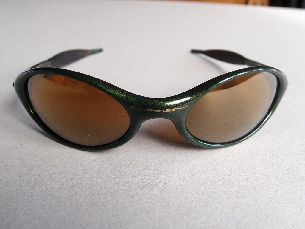 Oakley Eye Jacket Moss Green Gold Iridium - $_57.JPG