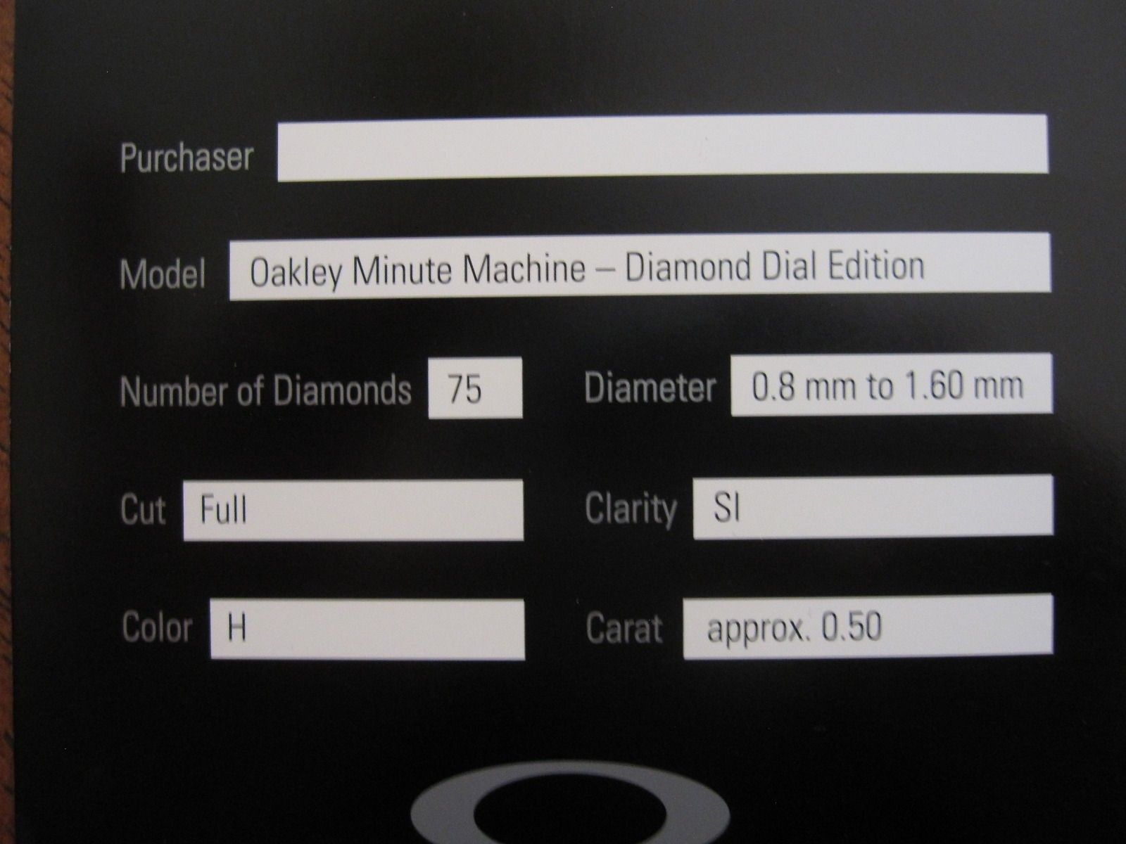 Selling Brand New Minute Machine Diamond Dial Edition Titanium Watch - $_574.JPG