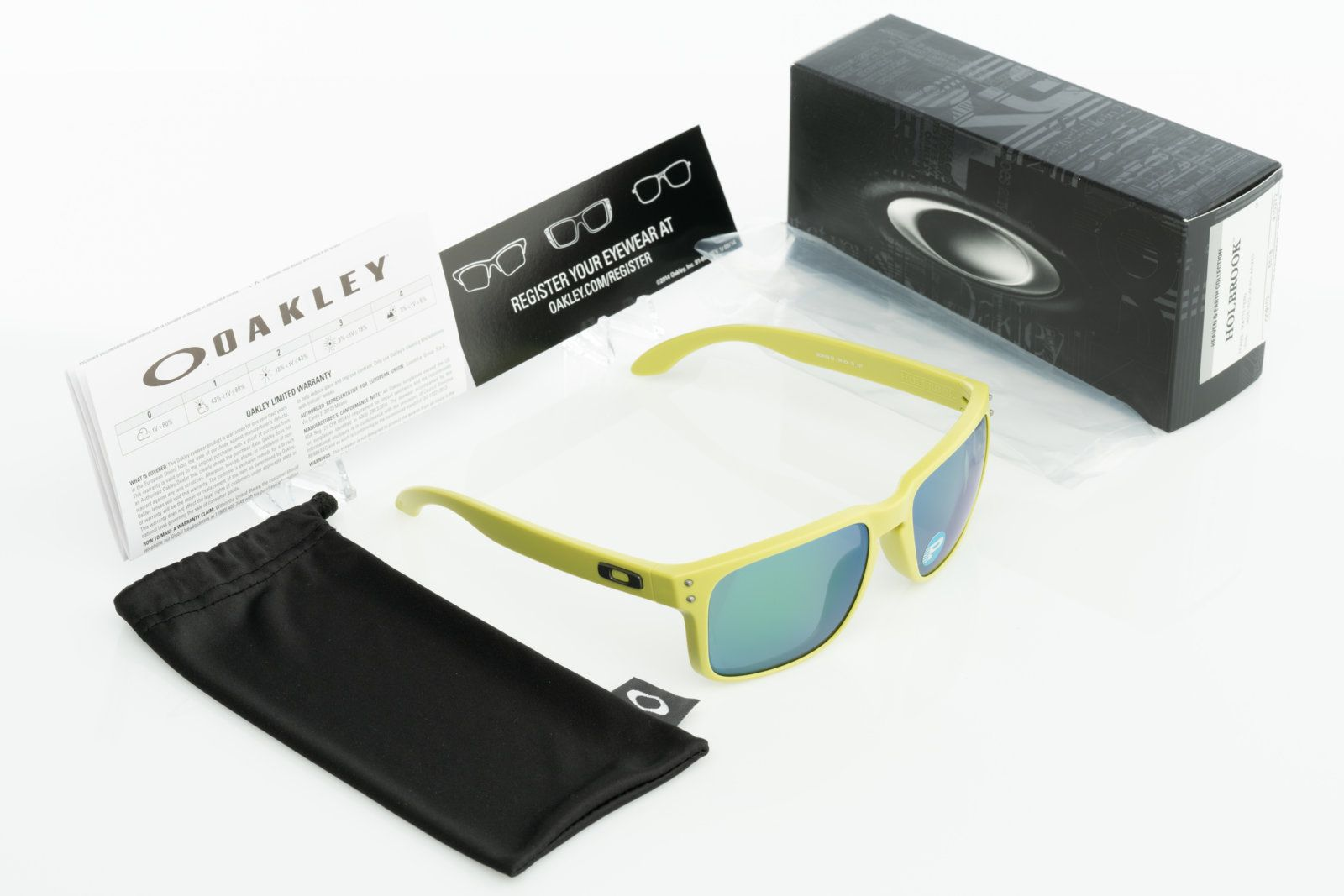 495702c99e NIB Oakley Holbrook Heaven   Earth Matte Fern Jade Iridium Polarized OO9102- 72 -  DSC3207 ...