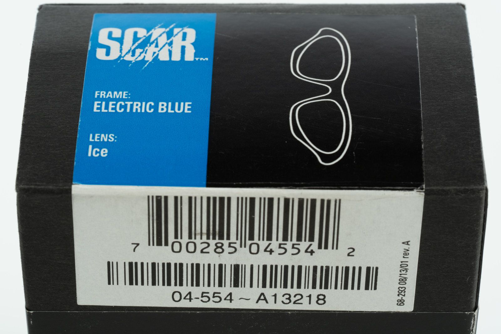 8665b50486 NIB Oakley Scar Electric Blue with Ice Iridium 04-554 Serial A13218 -   DSC3513.