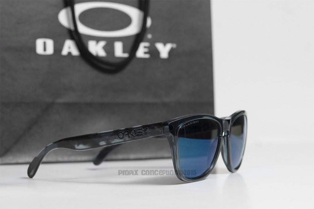 Cistomized Oakley Frogskins Black Tortoise &Crystal BLK+Ice Iridium Polarized - _DSC8100.jpg