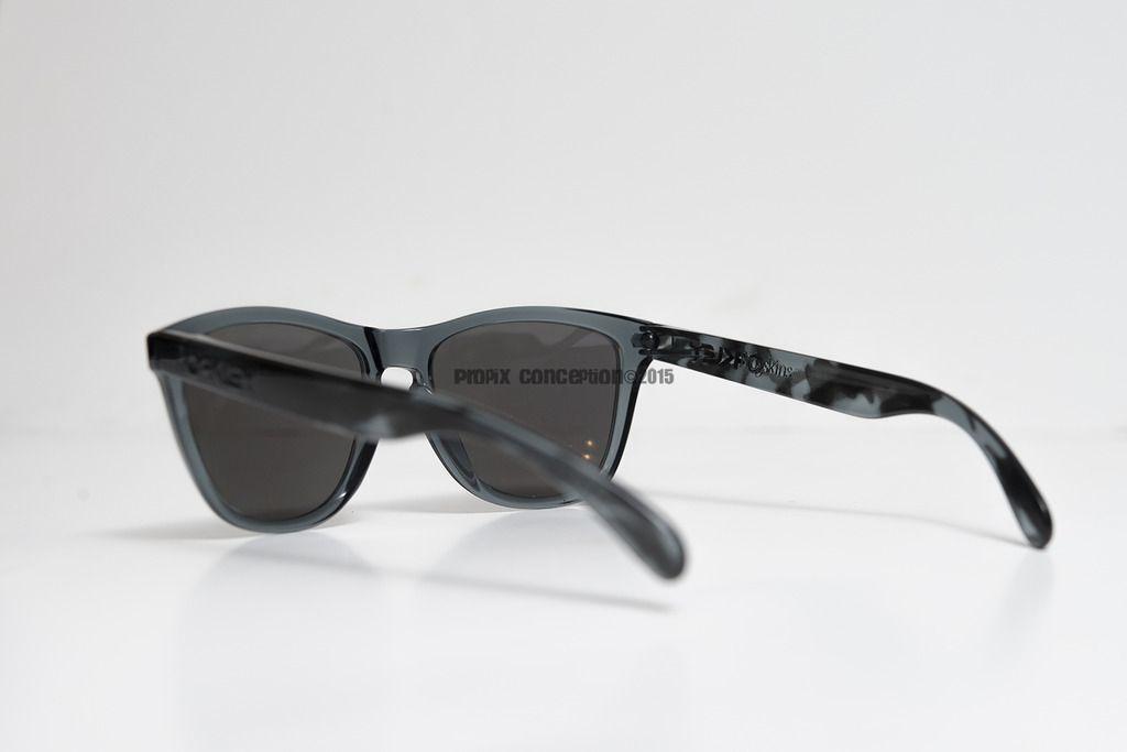Cistomized Oakley Frogskins Black Tortoise &Crystal BLK+Ice Iridium Polarized - _DSC8101.jpg