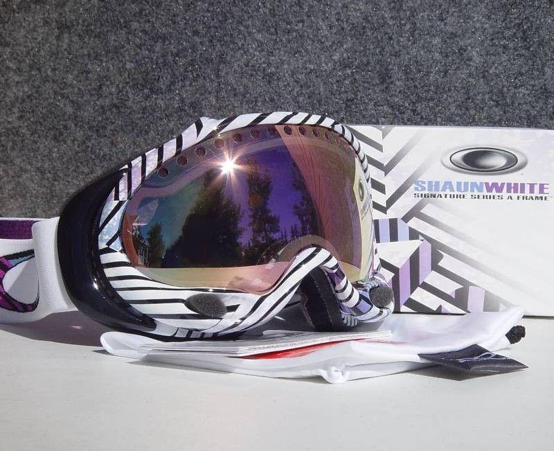 BNIB Shaun White Signature A Frame Goggles 01-845 - A Frame Shaun White pinstripe pink.jpg