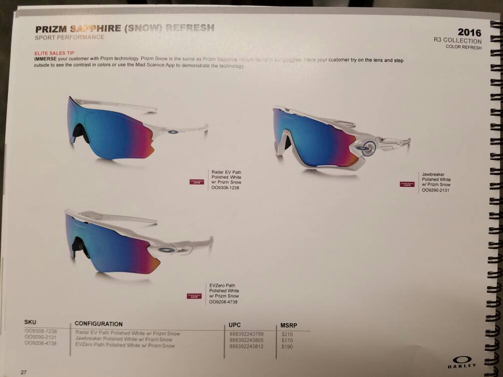 oakley prizm snow lenses