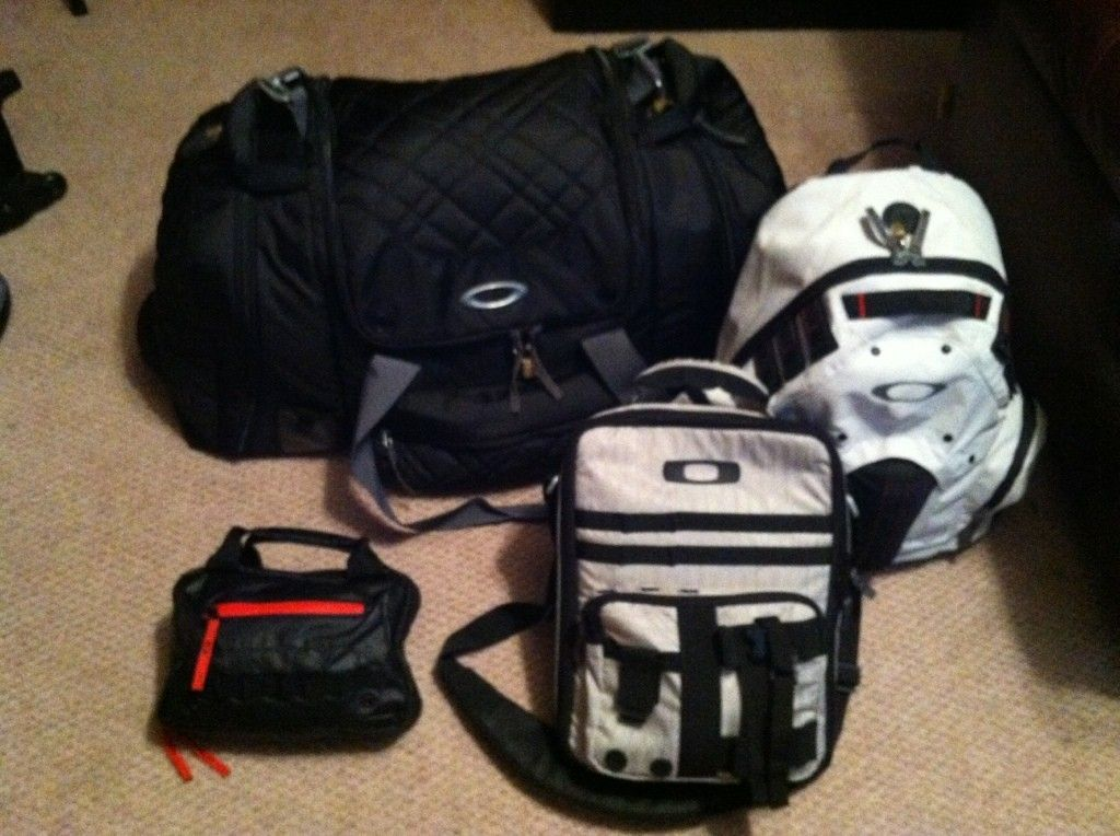 Packed And Ready To Go To California! Traveling Oakley Style - ac99c23d.jpg