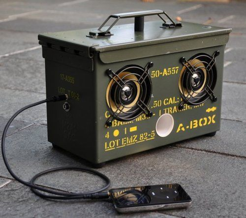 Is anyone good with audio tech and electronics? - ammo-can-speaker-box.jpg