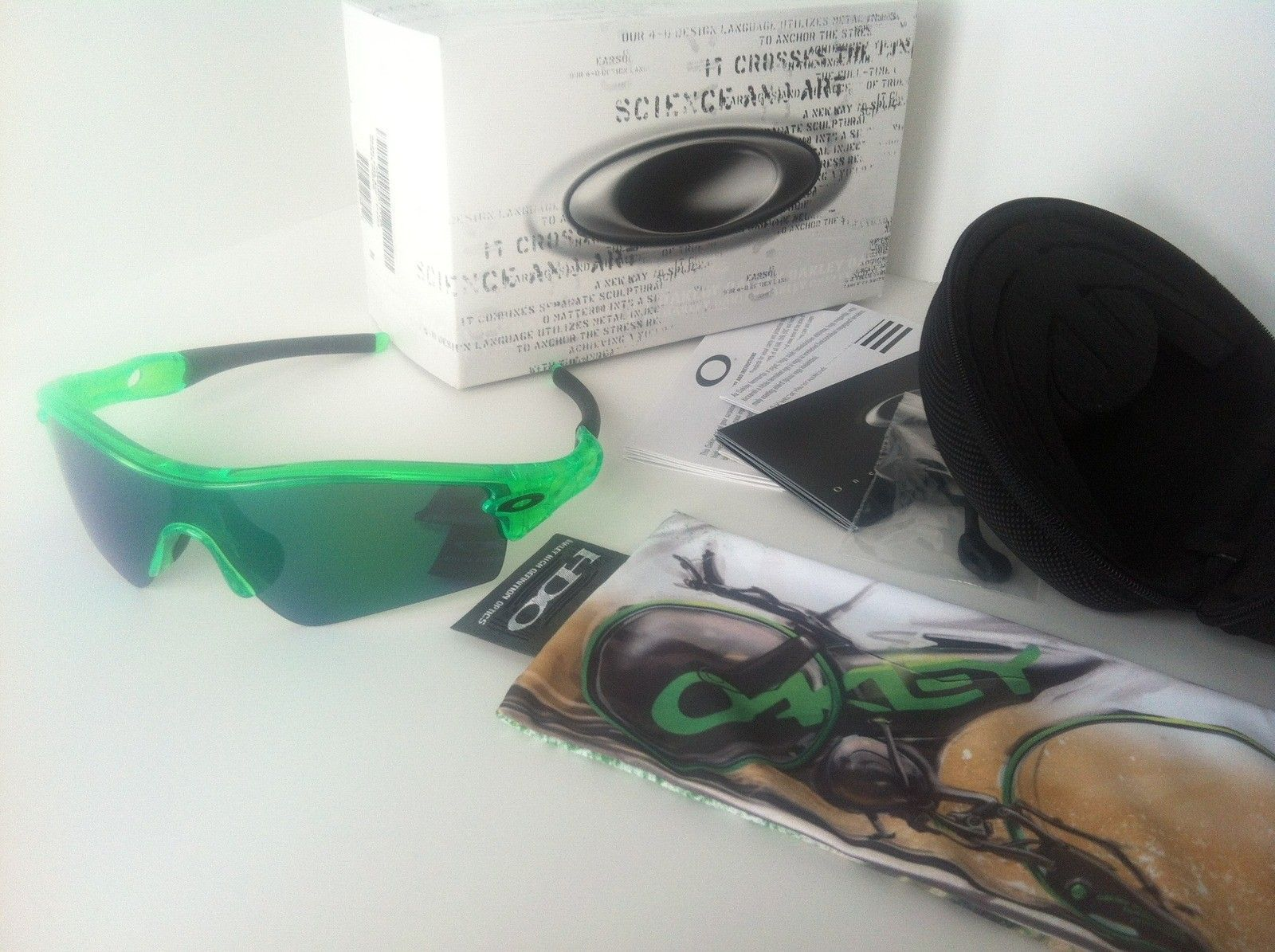 FOR SALE: TdF Anti Freeze Radar Path W Jade Iridium - Tour De France BNIB Complete - antifrzradpathtdf03.jpg