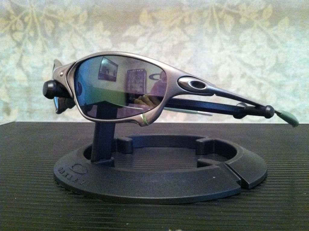 Oakley Juliet Plasma/Emerald W/Ichiro Rubber Kit........ (IH Frame) - apy5ebam.jpg