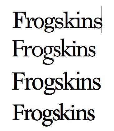 Frogskins Font - aRspLiX.png