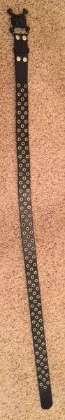 Scatter Skull Black Leather Belt $90 - Belt6.jpg