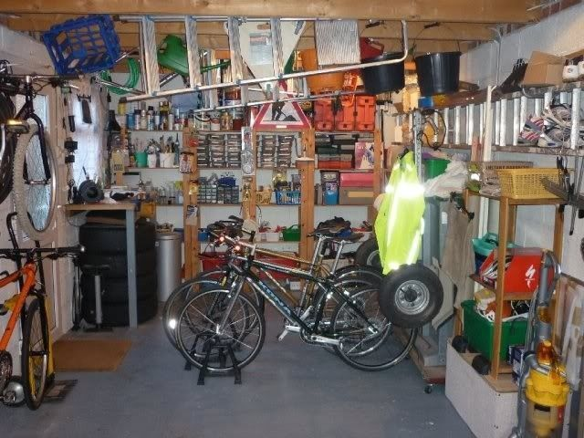 """Show Us Your """"mancave"""", Workshop, Garage - bikesgarage005.jpg"""