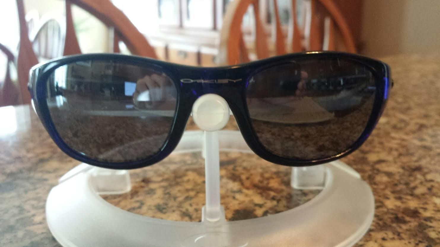 1st Generation Crystal Blue FIVES w/ Black Iridium Lenses - blue53.jpe