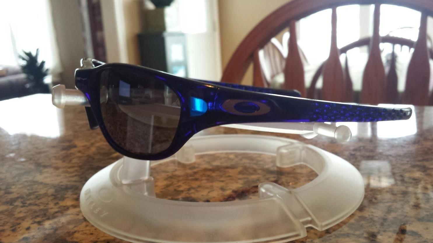 1st Generation Crystal Blue FIVES w/ Black Iridium Lenses - blue54.jpe