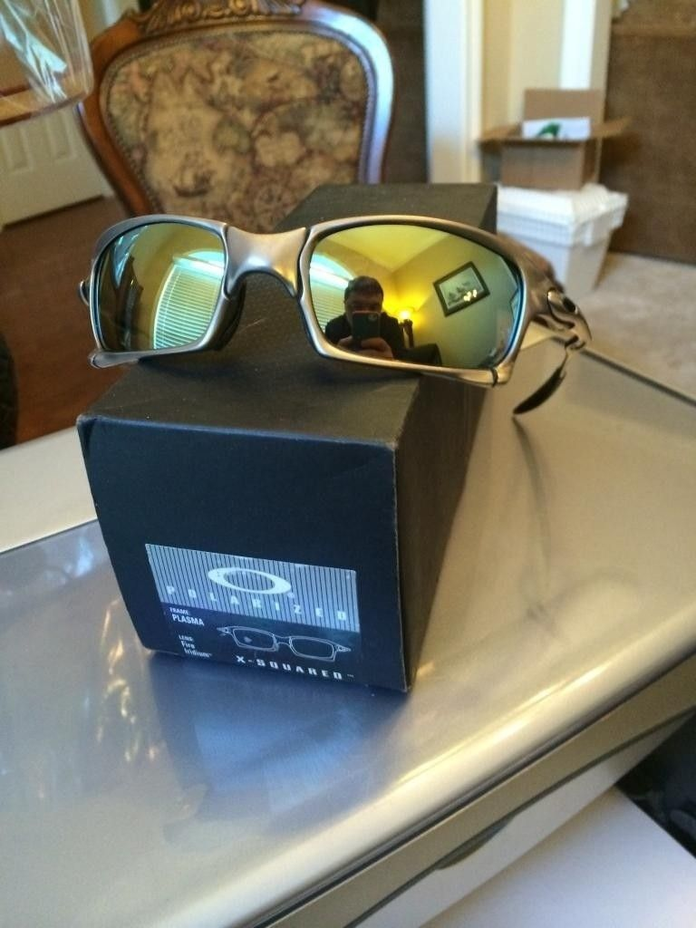 FS  Oakley X Squared Plasma Complete Displayed Only New - C955CC54-DAD8-4ECD-A98B-BB888A42E1DA.jpg