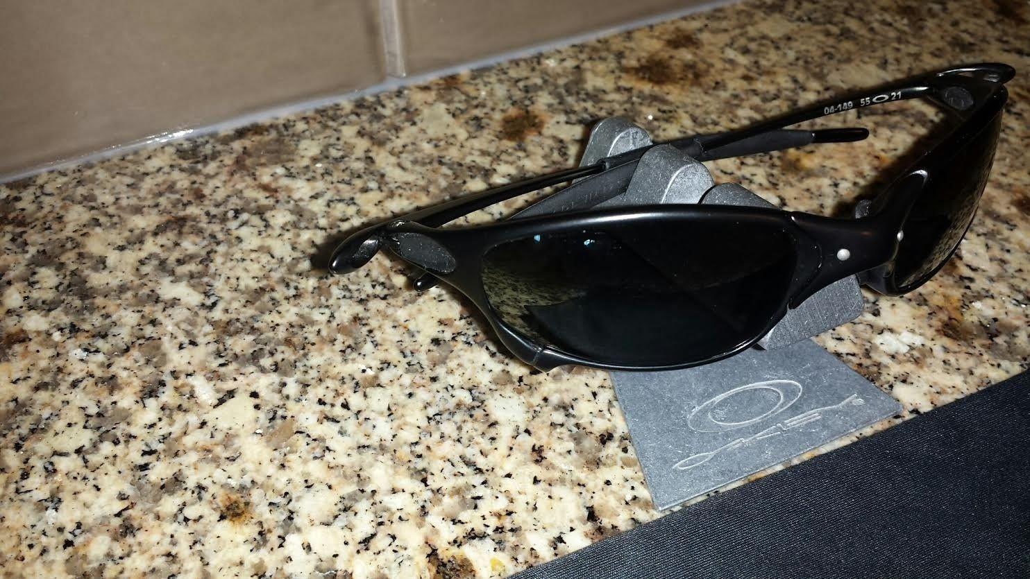 Carbon Juliet 04-149 Polarized Black Iridium - price drop $275 shipped - carbonjul2.jpe