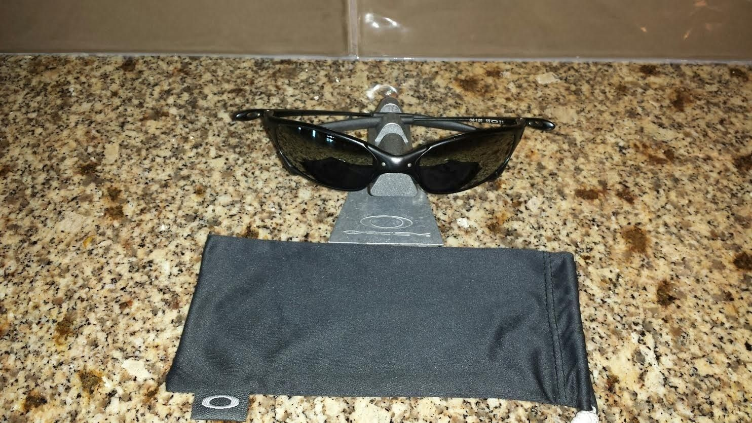 Carbon Juliet 04-149 Polarized Black Iridium - price drop $275 shipped - caronjul.jpe