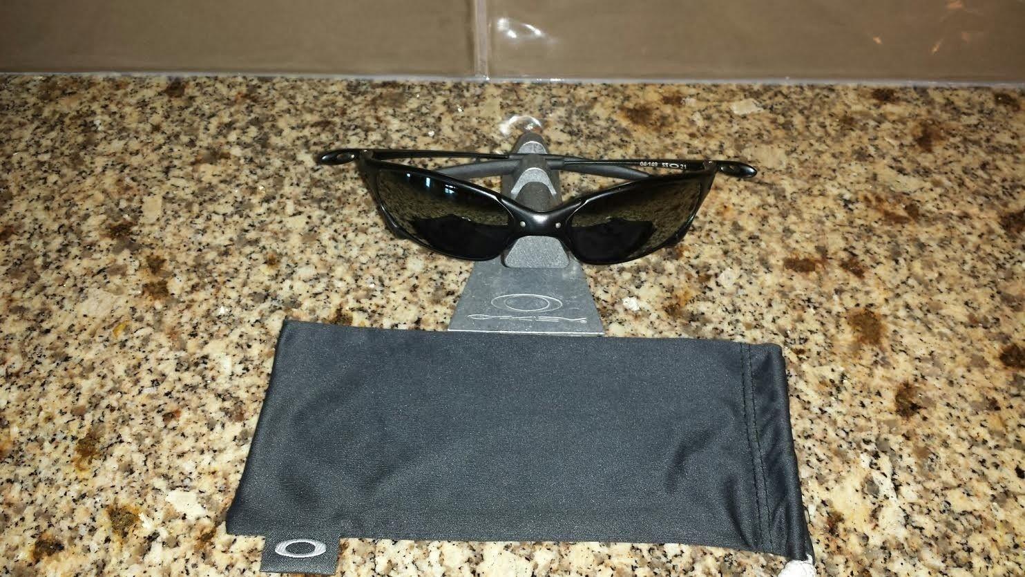 Carbon Juliet 04-149 Polarized Black Iridium - price drop $275 shipped - caronjul.jpe