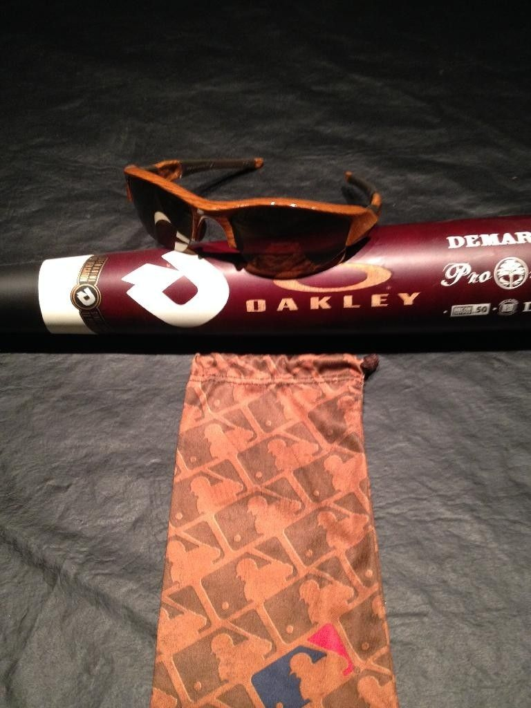 "Rare Oakley-Etched Demarini Bat And Water Transfer Printed ""Baseball Bat"" Flak Jacket XLJ - CC8688DB-436E-41FC-8C1D-17B2B6B80D63.jpg"