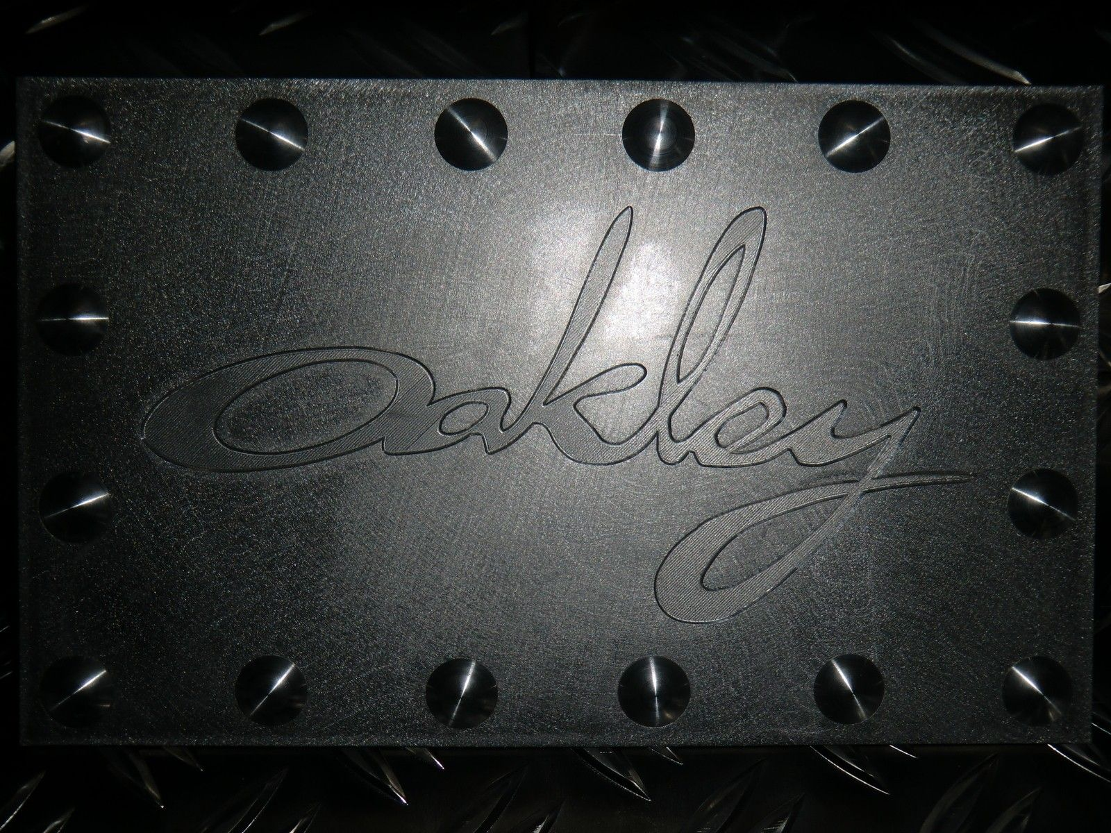 Oakley Plates selfmade on my machine for my towers - CIMG1849.JPG