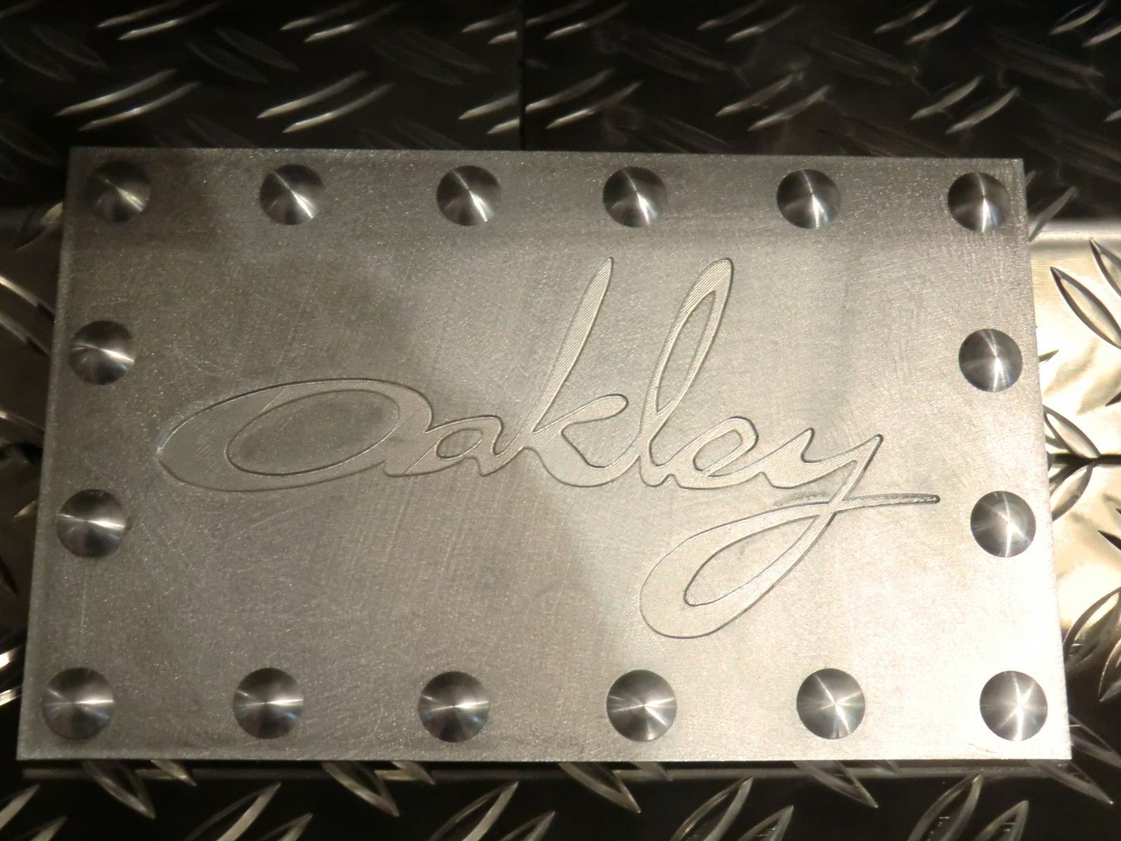 Oakley Plates selfmade on my machine for my towers - CIMG1851.JPG