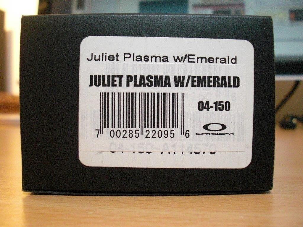 BNIB Juliet Plasma/Emerald (SOLD) - CIMG4376.jpg