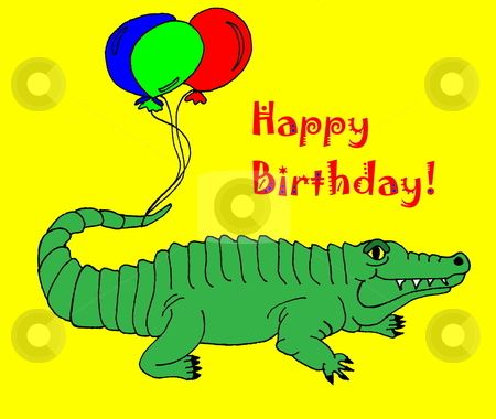 What Oakleys Are You Wearing Today?? - cutcaster-photo-100817356-Happy-Birthday-Gator.jpg