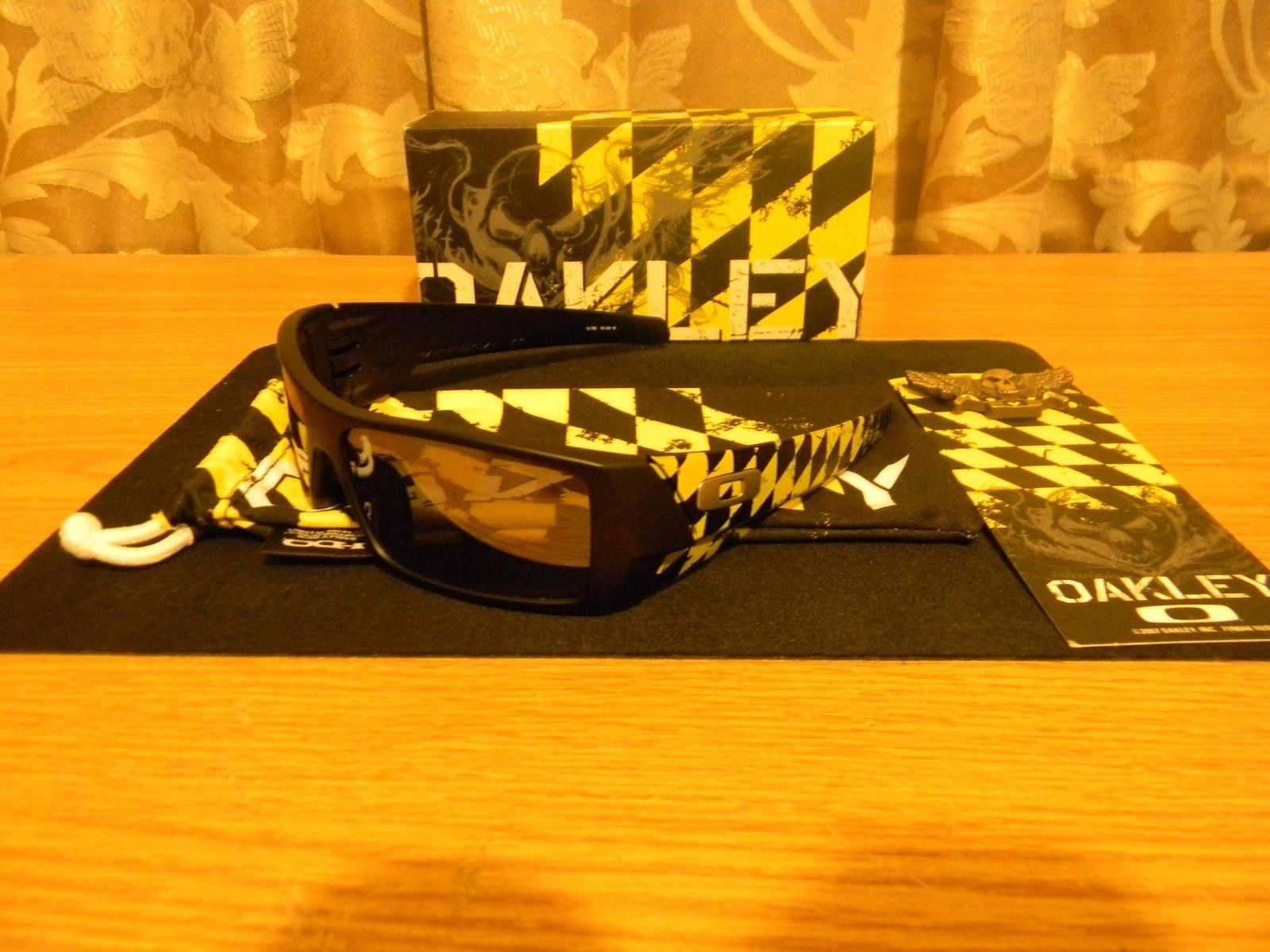 oakley gascan orange 0w66  Oakley Gascan Flying Tiger Black Version And JPM With Art On The Side