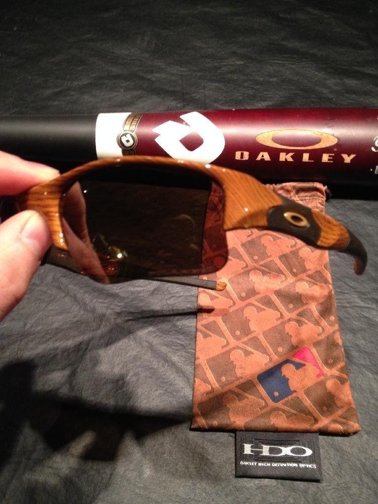 """Rare Oakley-Etched Demarini Bat And Water Transfer Printed """"Baseball Bat"""" Flak Jacket XLJ - D5A0D3B7-AF61-4660-855E-DFF2C9BD48E9.jpg"""