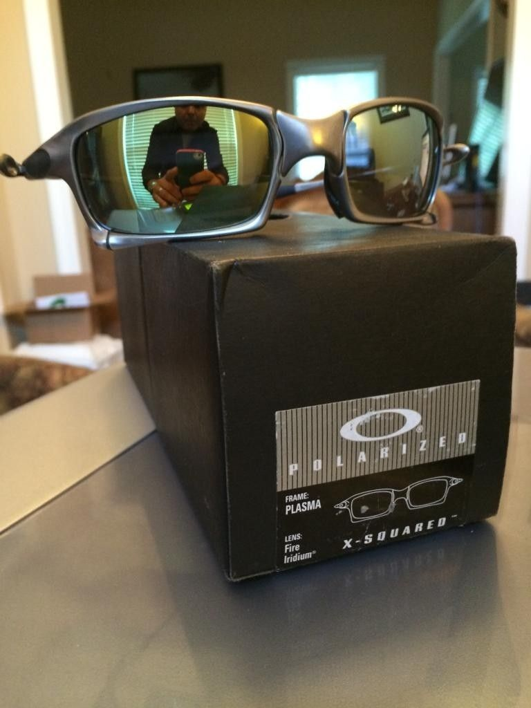 FS  Oakley X Squared Plasma Complete Displayed Only New - DB011CF7-3749-409D-B804-8DE942AEE1FA.jpg