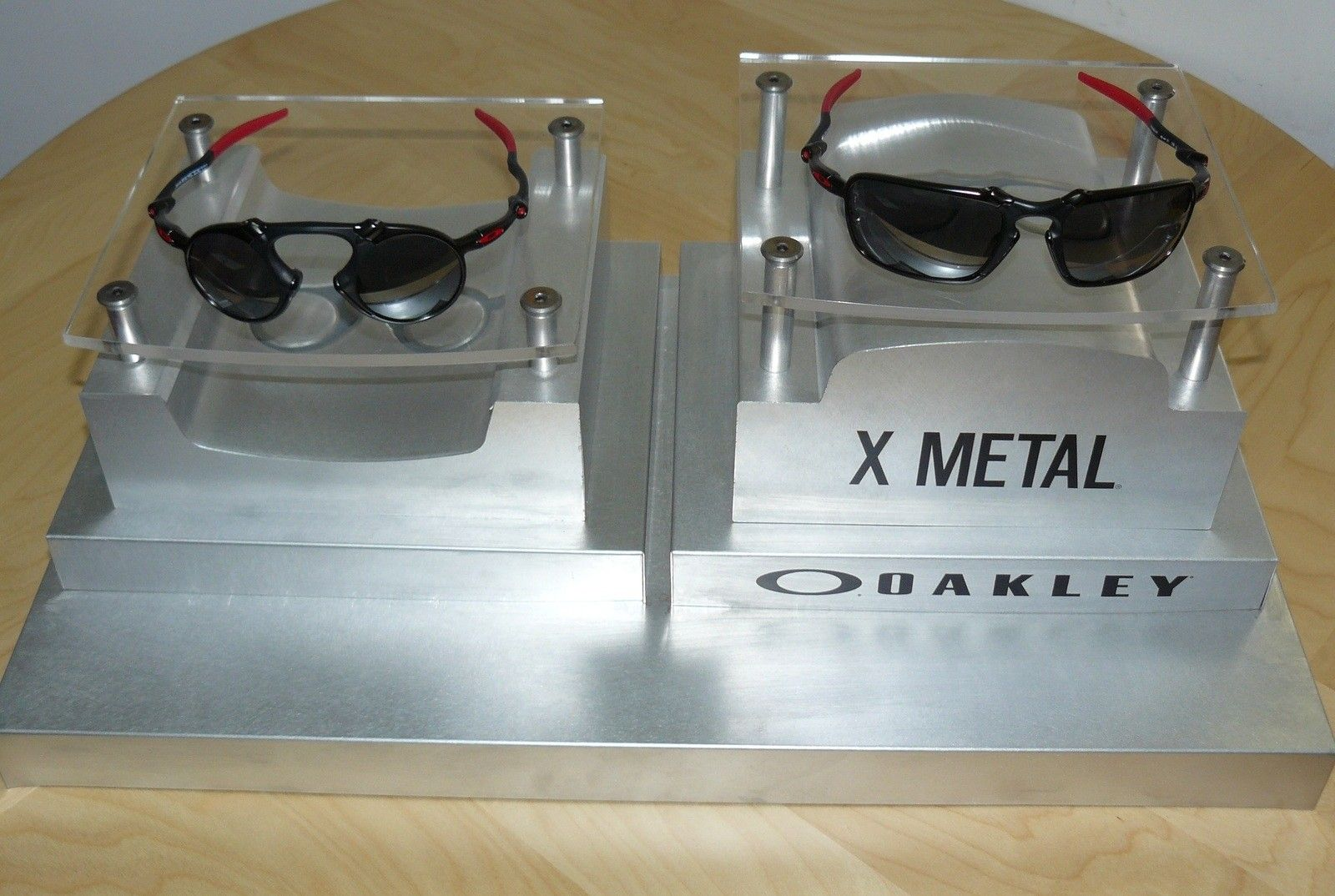 New X-Metal display - one year anniversary - display w. x-metals.jpg